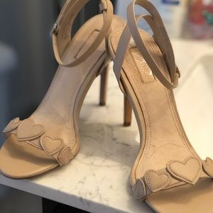 TOP SHOP STRAPPY POINT HEELS